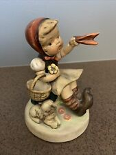 "New ListingGoebel Hummel #65 ""Farewell"" Girl Waving With Lamb Made In Germany Us Zone Tmk 1"