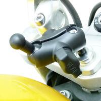 17.5-20.5mm Support Tige Fourche Moto & Adaptateur Pour Garmin Nuvi Berceaux