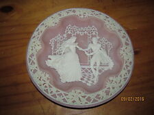Vintage Collectible Incolay Studios Hamlet & Ophelia Shakespearean Lovers Plate