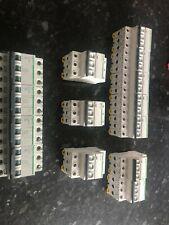 14 SCHNEIDER C60HD D40 B63 D32 B25 10KA TRIPLE POLE MCB CIRCUIT BREAKER FREE P+P
