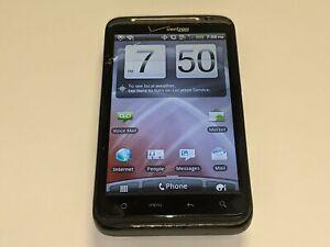 HTC ThunderBolt ADR6400L 4G LTE Verizon Wireless 4GB Black Smartphone *Smashed*