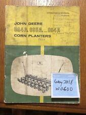 John Deere 694A,695A,894A Planter OMB25229 Operators manual book