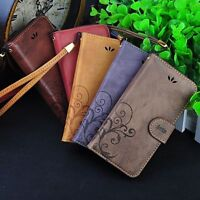 Retro Leather PU Skin Wallet Cover Case For iPhone 5/5S/6/6S/6Plus/6SPlus