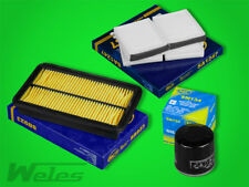 FS400 INSPEKTIONSPAKET Luftfilter Ölfilter Pollenfilter MAZDA 626 V 1,9 2,0