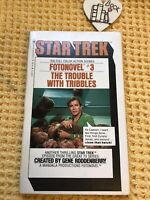 Startrek , The Trouble with Tribbles (Star Trek Fotonovel #3) FIRST EDITION MINT
