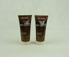 2x John Frieda Brilliant Brunette Color Protection Hydration Conditioner 50ml