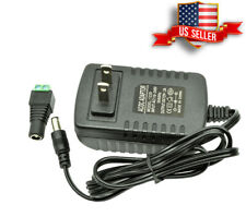 DC 12V 2A amp AC Adapter Charger Power Supply for LED Strip Light 12 Volt, USA