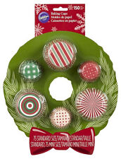 Christmas Multipack Baking Cups 150 ct from Wilton 2684 - NEW