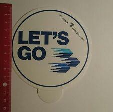 Aufkleber/Sticker: ITT Nokia Lets go (191116111)