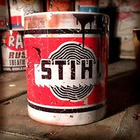 Stihl chainsaw oil can Gift Motorcycle Car Mechanic Gift 11oz Tea coffee mug