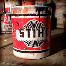 Stihl chainsaw oil can Gift Motorcycle Car Mechanic Gift 11oz Tea coffee mug