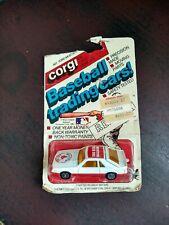 1982 CORGI #401 FORD MUSTANG BOSTON Red SOX BASEBALL TRADING CAR