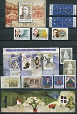 Hungary Ungarn Hongrie 2003 - Year Set - 38 Stamps and 12 Sheets, NH