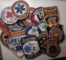 More details for police, fire, ambulance embroidered badges
