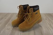 NEW Womens Lugz Work Boots Shoes Sz 7.5 NWOB Winter Thermabuck Tan Suede Lace Up