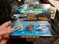 Micro Machines Space X Star Trek Deep Space Nine  Miradorn,Bajoran,Klaestron B42