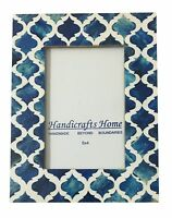 5x7 Picture Photo Frame Moorish Damask Moroccan Arts Inspired Handmade Frames