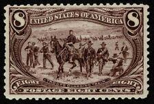 Scott#289 8c Trans Mississippi 1898 Mint LH OG Well Centered