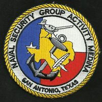 US Naval Security Group Activity MEDINA - San Antonio, Texas Military Patch
