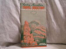 1950'S ROCKY MOUNTAIN TRAVEL  DIRECTORY FOR COLORADO