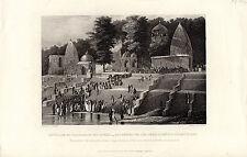 Antiguo Impresiones De La India-sutteism mientras se encuentran orillas del río Ganges (c1870)