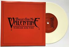 BULLET FOR MY VALENTINE - SCREAM AIM FIRE rare UK 7 INCH VINYL RECORD NEW 2008