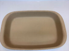"""Pampered Chef Family Heritage Cranberry Stoneware Baker New Traditions 15""""x9-3/4"""