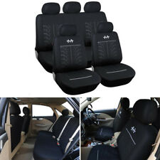 Car Seat Covers Car Seat Protector Black + Headrest Covers Brethable New Style
