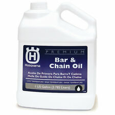 Husqvarna Premium 128-oz Conventional Bar and Chain Oil Reducing Heat & Friction