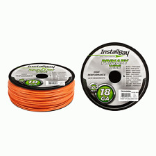 Install Bay 18 Gauge 18G Primary Wire 500 Ft Orange Audio PWOR18500