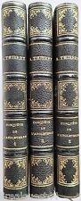 Histoire de la conquête de l'Angleterre par les Normands Thierry  3 tomes 1866