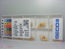 10 X SECO DCMT 070204-F2,TP40  WENDESCHNEIDPLATTEN CARBIDE INSERTS