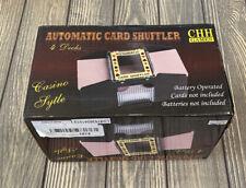 CHH GamesAutomatic Card Shuffler 4 Decks Casino Style