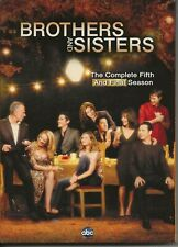 Brothers and Sisters: The Complete Fifth Season 5 DVD, 5-Disc Set New/Sealed