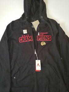 Antigua Womens 2015 Chicago Blackhawks Stanley Cup zip up sweatshirt