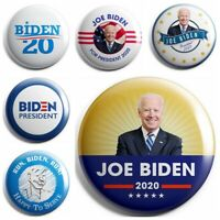 6 Pack Joe Biden Badges For President 2020 Campaign Button Set -2.25 inches Pins