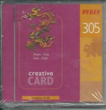 Pfaff Creative Card 305 for 2140, 2144, 2170  Embroidery Designs 92-330010-23