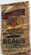 Burlap Bag Vintage Beans