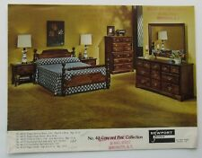Sales Brochure For  Newport Furniture Concord Pine Collection 60's