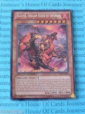 Yu-gi-oh Blaster, Dragon Ruler of Infernos CT10-EN002 Secret Rare Mint New
