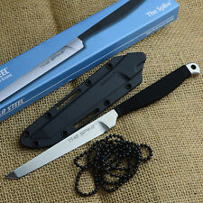 Cold Steel The Spike Tanto Point 420 Tactical Neck Knife With Sheath 53CT