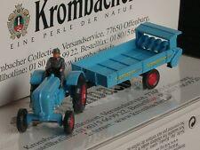 Wiking PORSCHE remorqueur KROMBACHER, fumier-Épandeur, 2534 - 1:87