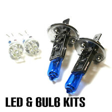 Bmw Serie 3 E36 325i H1 501 100w Super Blanco Xenon dip/led Laterales Bombillos Set