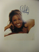 Whitney Houston Signed Photo 8x10 Rare New Picture Autograph Signature reprint