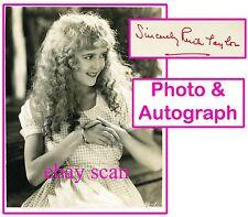 RUTH TAYLOR Vintage Original Rare Photo AUTOGRAPH CARD Linen Backed Dbl Wt 1928