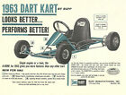 Vintage 1963 Rupp Dart Kart A-Bone Go-Kart Brochure