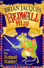 Redwall Map and the Redwall Riddler by Brian Jacques (Paperback, 1997)