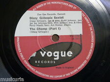 78 rpm DIZZY GILLESPIE SEXTET the champ [ parts 1&2 ] V.2116