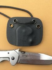 Kydex Neck Sheath for Kershaw / Emerson Model # 6034T - No Knife Sheath Only