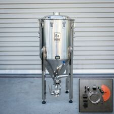 Half bbl | Chronical Brewmaster Edition Fermenter with FTSs Heating Chilling Ss